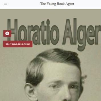 The young book agent by Alger Horatio Free eBook poster