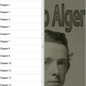 The young book agent by Alger Horatio Free eBook apk screenshot