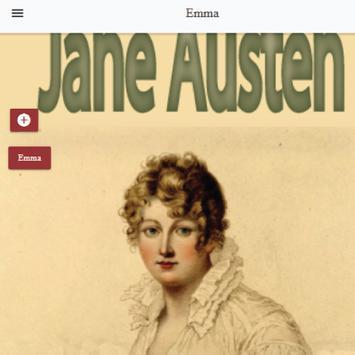 Emma, a novel by Jane Austen Free eBook apk screenshot