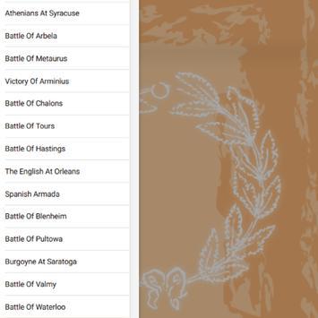 Fifteen Decisive Battles from Marathon to Waterloo apk screenshot