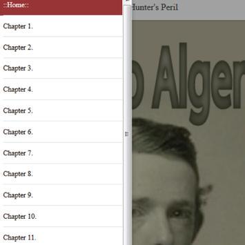 Frank Hunter's Peril by Jr. Horatio Alger eBook apk screenshot