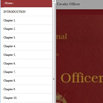 Journal of a Cavalry Officer by W.  Humbley apk screenshot