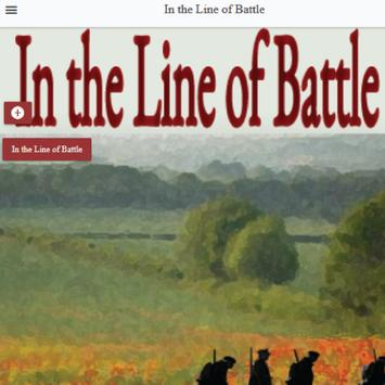In the Line of Battle poster
