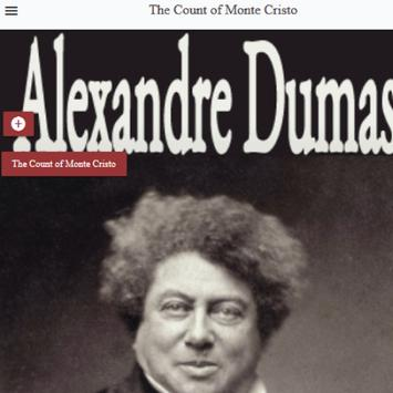 The Count of Monte Cristo novel by Alexandre Dumas poster