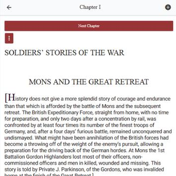 Soldiers' Stories of the War screenshot 2