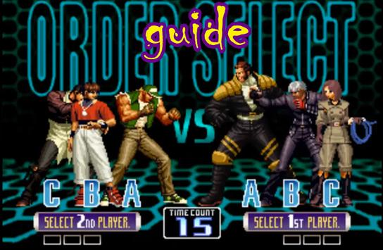 Guide King of Fighters 2002 apk screenshot