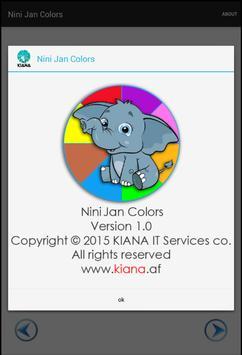 Nini Jan Colors apk screenshot