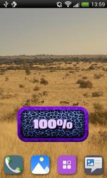 Leopard Battery Widget apk screenshot