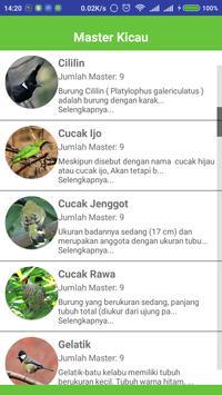 Bird Mastering for Train screenshot 1