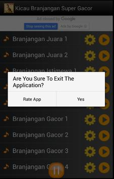 Kicau Branjangan Super Gacor apk screenshot