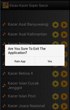 Kicau Kacer Super Gacor apk screenshot