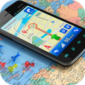 GPS Navigation Maps guide icon