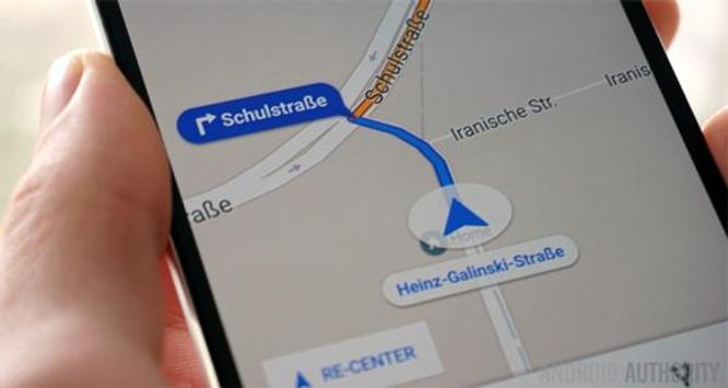 GPS Navigation Maps guide poster
