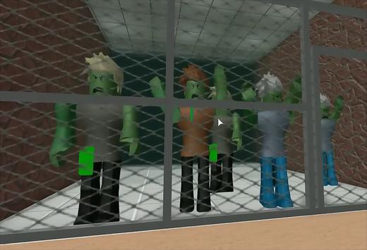 NewTips Escape the Zombie Obby Roblox poster