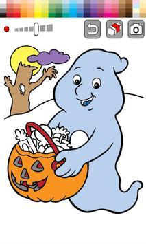Kids Coloring Book Halloween apk screenshot