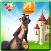 nut the squirrel adventure jobs icon