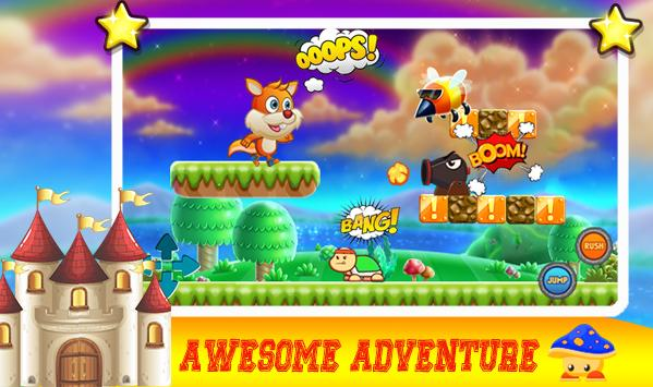 nut the squirrel adventure jobs poster