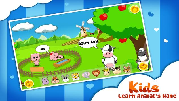 Animals Sounds - Kids Games poster