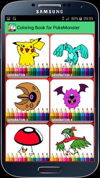 Coloring Book for PokeMonster APK Download  Free Educational GAME