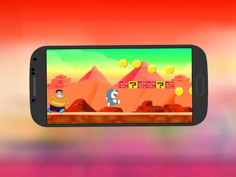 super doramon adventure & jungle running screenshot 1