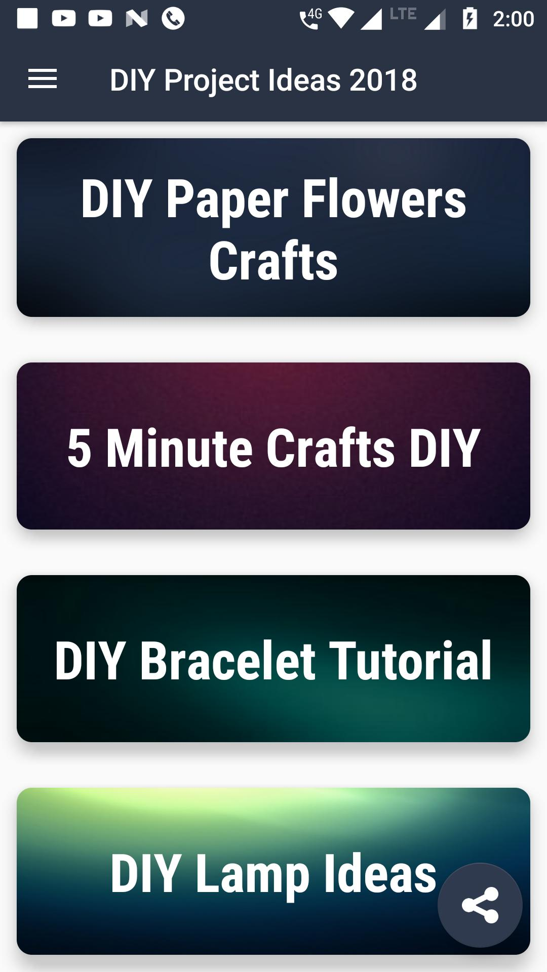 DIY Projects, Ideas, Hacks & Crafts VIDEOS 2018 for Android