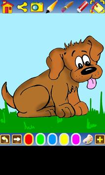 Coloring Dogs for kids screenshot 1