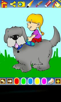 Coloring Dogs for kids screenshot 2
