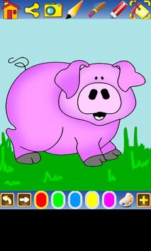Coloring Farm for kids screenshot 1