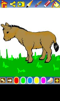 Coloring Farm for kids screenshot 2