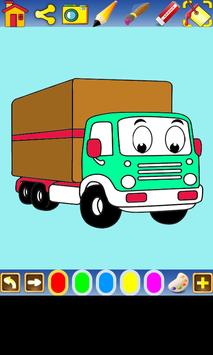 Coloring Transportation screenshot 3