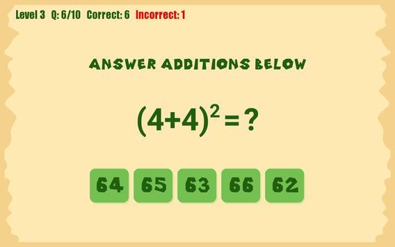 Kids Math apk screenshot