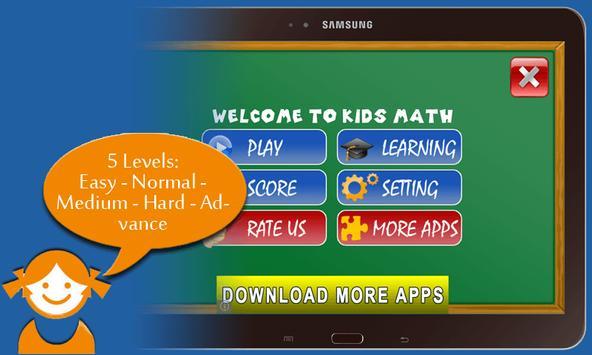 Kids Math Free poster
