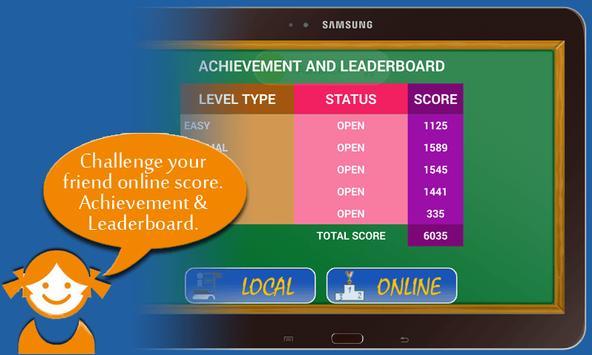 Kids Math Free apk screenshot