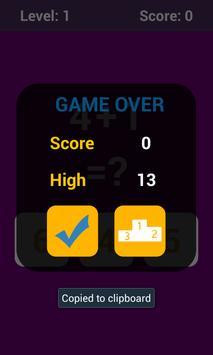 Math Challenge screenshot 3