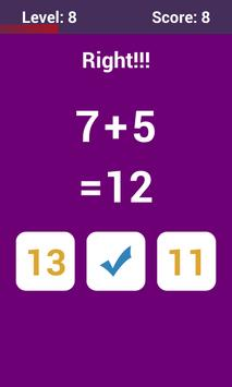 Math Challenge apk screenshot