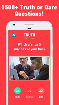 Truth Or Dare: Clean Party Game for Kids & Family screenshot 1