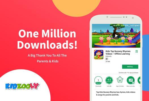 Kids Top Nursery Rhymes Videos - Offline Learning poster
