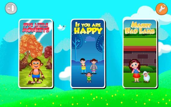 Kids Top Nursery Rhymes Videos - Offline Learning apk screenshot