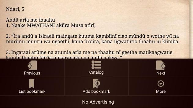 Kikuyu Bible screenshot 6