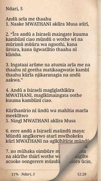 Kikuyu Bible poster