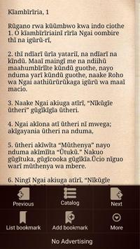 Kikuyu Bible apk screenshot