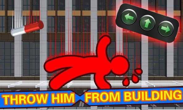Kill The Boss Ragdoll Stickman poster