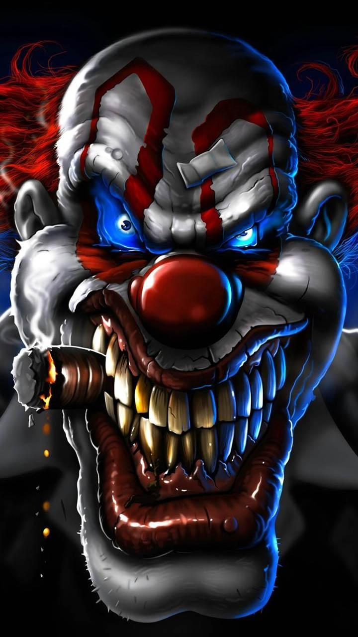 Download Free Fire Night Clown Wallpaper