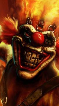 Killer Clown Wallpaper HD Poster Apk Screenshot