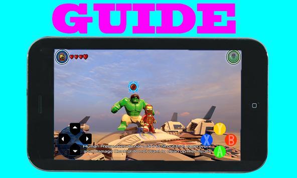 Guide for LEGO Marvel Avengers screenshot 4