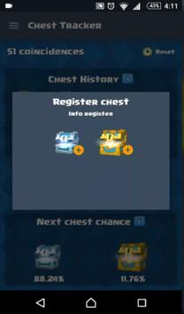 Tips Clash Royale Chest Track screenshot 11