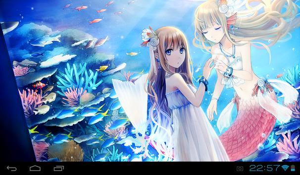 Mermaid HD Live Wallpaper screenshot 3