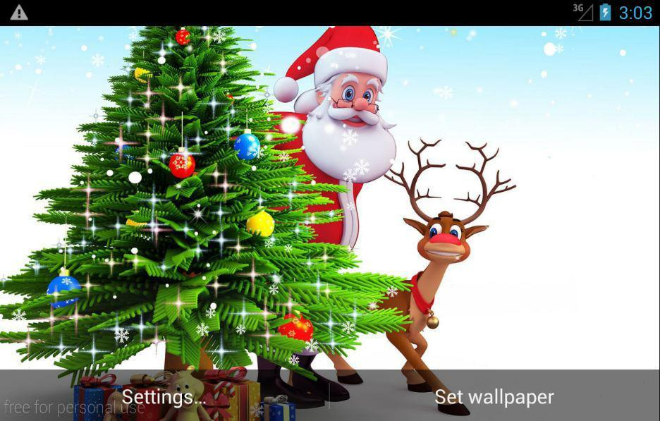 Image De Noel 3d.Noel 3d Live Wallpaper For Android Apk Download