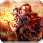 Fantasy Girls LiveWallpaper icon