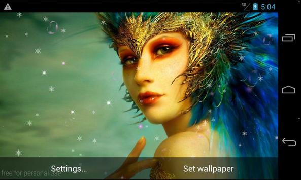 Fantasy Girls LiveWallpaper screenshot 11